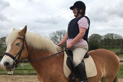 3rd Anne-Marie Symonds - Ninka (UK) April 2017 Class 17 Senior Riders 18+.