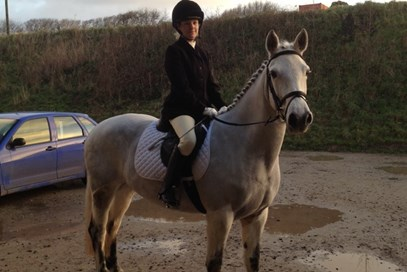 7th Kirstie Mcpherson - Connie (UK) May 2017 Class 1 Condition and Turnout of Horse or Pony.
