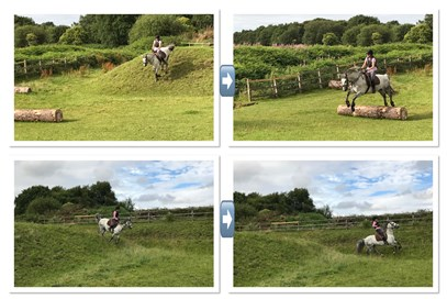 1st Celia Dawson - Clooneen Ciaran(UK) - August 2017 Class 2 That Ooop's Moment