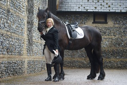 3rd Helen Watts - Sybrich Van Coudenburgh(UK) - September 2017 Class 7 Condition and Turnout.