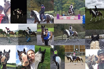 1st Molly Baigent - Harley(UK) - December 2017 Class 2 The Very Best of 2017.